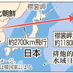 北朝鮮のミサイルが日本に落ちたらぶっちゃけどれだけの被害を受けるの?場所は?